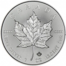 Stříbrná mince Maple Leaf 1 Oz paket 25 ks